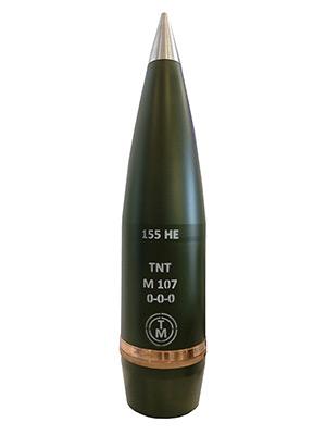 155 mm high-explosive projectile - Transmobile Ltd.